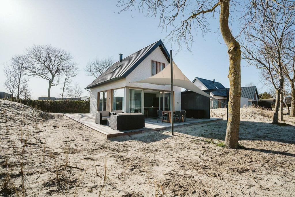 modern huisje