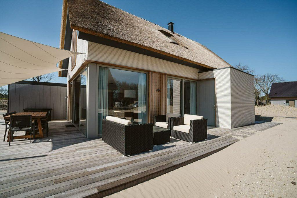 vakantiehuis met sunshower