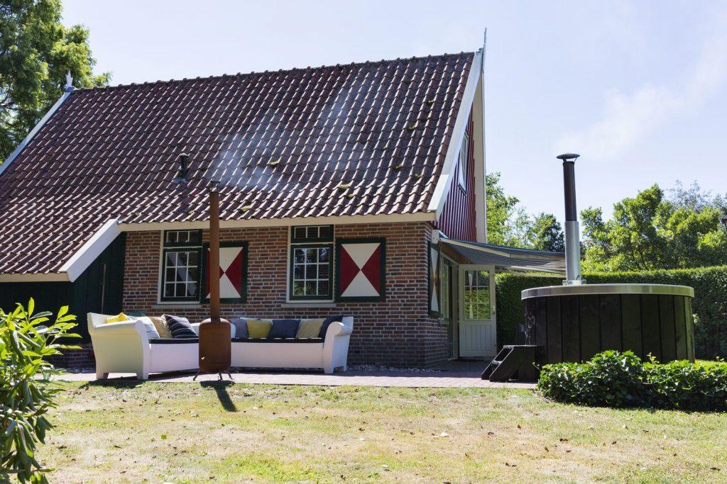 vakantiehuis met finse sauna
